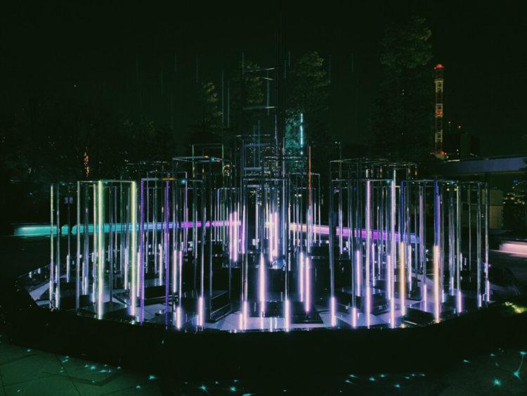 銀座シックスのイルミネーションの写真