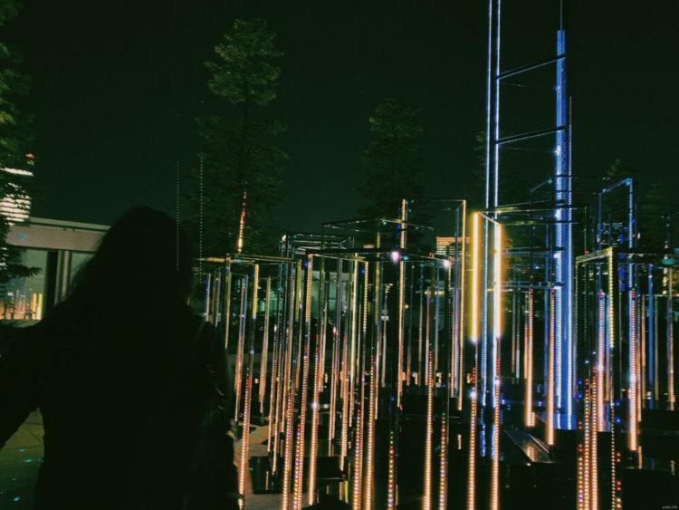銀座シックスのイルミネーションの写真2