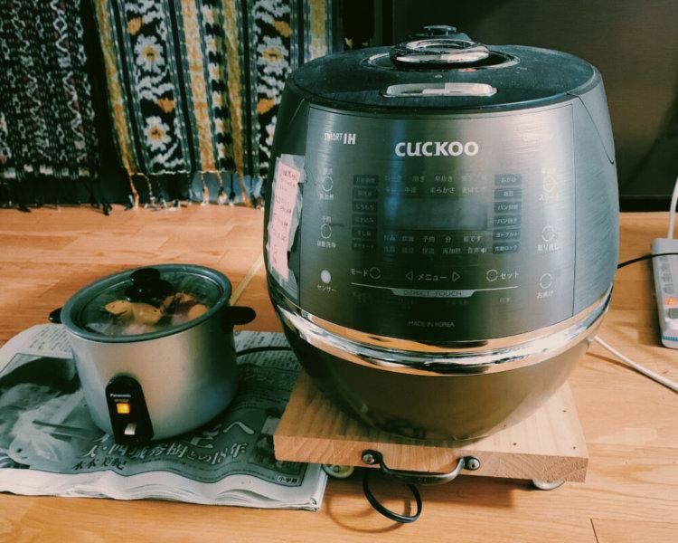 炊飯器の写真