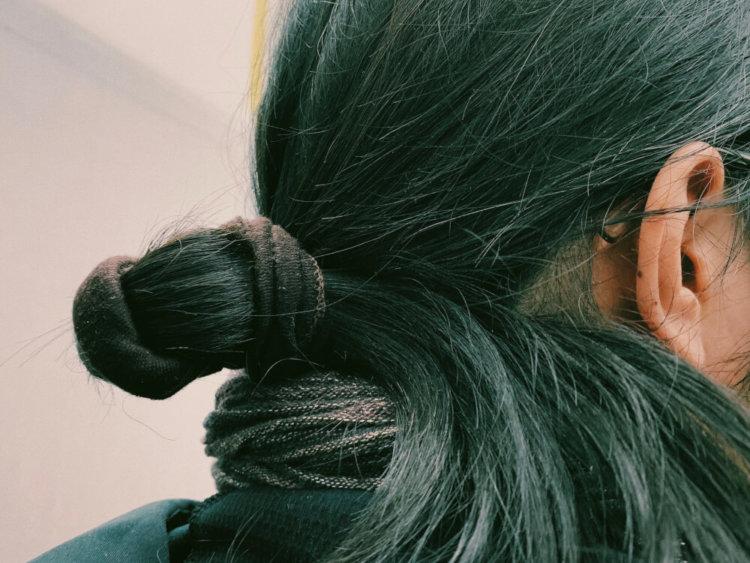 髪の写真1