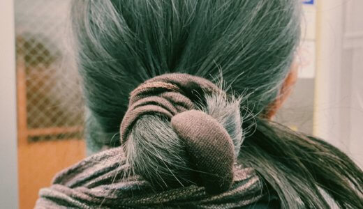📷 変わった髪のまとめ方