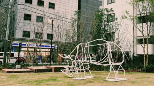 「KANDA SQUARE(神田スクエア)」の様子 (2020年4月2日現在)