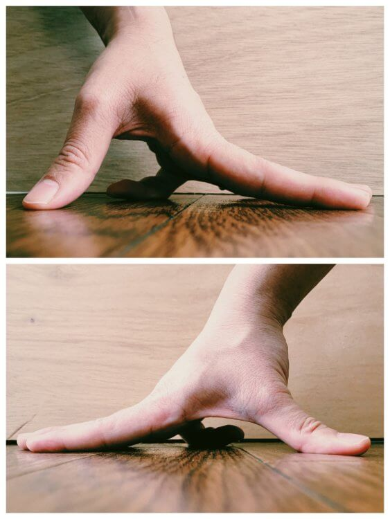 小指の写真