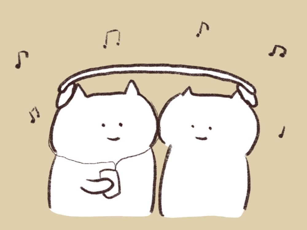 ジャズねこたちのイラスト4